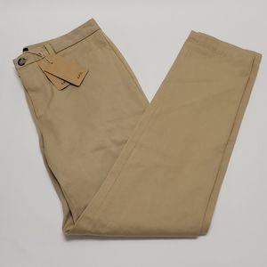 A.P.C. Flat Front Khaki Pant